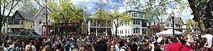 Mifflin Street Block Party - Panoramic view of the Mifflin Street Block Party in 2009