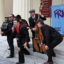 Mikelangelo and the Black Sea Gentlemen performing at the 2013 Brighton Fringe Festival.jpg