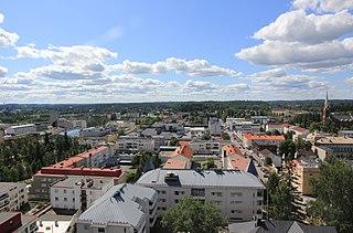 Mikkeli Town in Etelä-Savo, Finland