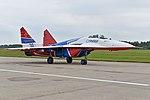 Mikoyan-Gurevich MiG-29S '30 blue' (37083683470).jpg