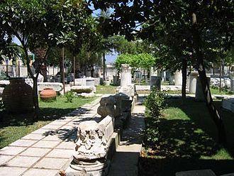 Milas - Milas Museum garden