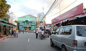 Minalin, Pampanga - Downtown area