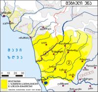 Mingrelian language distribution map-ka.png