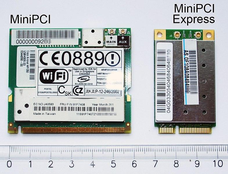 787px-MiniPCI_and_MiniPCI_Express_cards.jpg