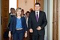 Ministru prezidents V.Dombrovskis tiekas ar Eiropas Parlamenta Rūpniecības, pētniecības un enerģētikas komitejas deputātiem un Eiropas Elektronisko sakaru regulatoru iestādes (BEREC) vadību (7886165214).jpg