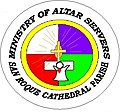 Ministry of Altar Servers-San Roque Parish Cathedral 1st logo.jpg