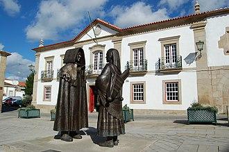 Alto Trás-os-Montes - The main square in the municipality of Miranda do Douro