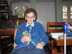 Elizabeth Hawley - Elizabeth Hawley, 15 November 2011, Kathmandu, Nepal