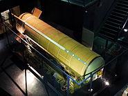 Missile S3 1er etage Musee du Bourget P1010432