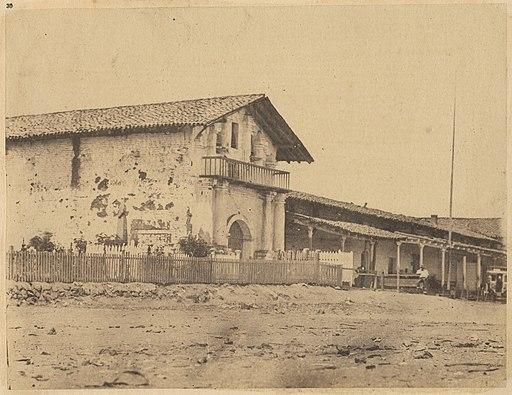 Mission of Los Dolores. 1856