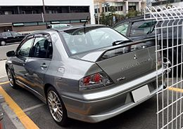 Mitsubishi Lancer Evolution VII GT-A rear.JPG