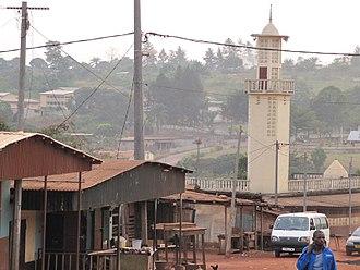 Compagnie minière de l'Ogooué - Town of Moanda