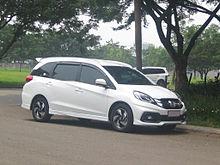 2017 honda mobilio rs pre facelift in indonesia