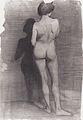 Modersohn-Becker - Stehender weiblicher Akt, vor dunkler Wand.jpeg