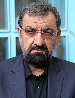 Mohsen Rezaee Iranian politician & Senior Military