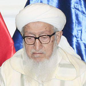 Sibghatullah Mojaddedi - Mojaddedi in September 2014