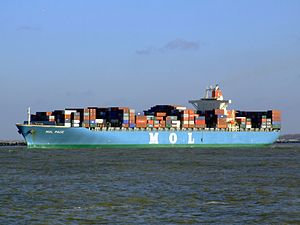 Mol Pace p2, leaving Port of Rotterdam, Holland 25-Jan-2007.jpg