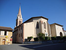 The church in Monferran-Savès
