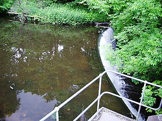 Monkland Canal - Image: Monkland Canal North Calder Water Source
