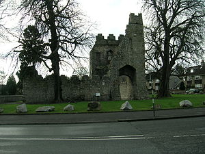 Monkstown, County Dublin - Monkstown Castle, viewed from the north.