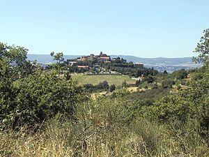 Montegabbione - Image: Montegabbione panorama