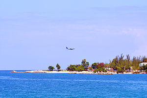 Montego Bay plane Photo D Ramey Logan