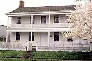 Thomas and Walter Monteith House - Image: Monteith House Albany Oregon