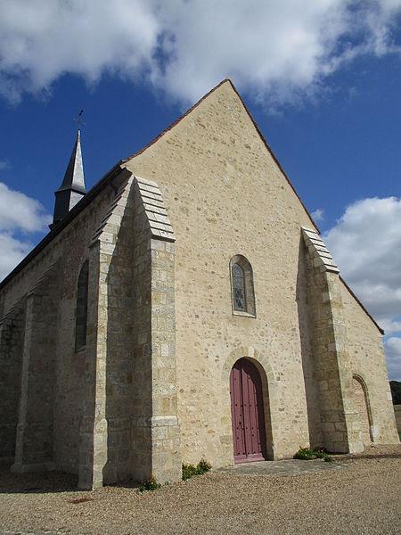 Eglise Notre-Dame de Montliard, façade.