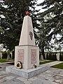 Monument auf dem Soldatenfriedhof der sowjetischen Armee in Laa an der Thaya, Österreich.jpg