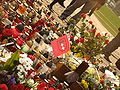 Monument to the Fallen Shipyard Workers of 1970 in Gdańsk after president's plane crash 2010 - 06.jpg