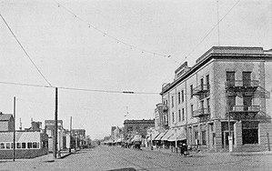 Moorhead, Minnesota - Front Street, 1916