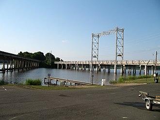 Mooringsport, Louisiana - Caddo Lake Draw Bridge