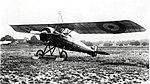 Morane-Saulnier P French First World War reconnaissance aircraft in RFC markings.jpg