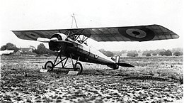 Morane-Saulnier P French First World War reconnaissance aircraft in RFC markings.jpg