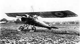 Un Type P con insegne Royal Flying Corps