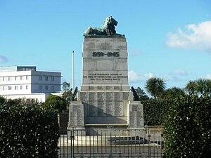 Morecambe and Heysham War Memorial - The Morecambe and Heysham Memorial