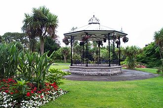 Morrab Gardens - The bandstand in Morrab Gardens