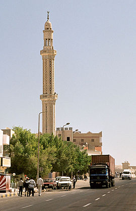 Mosque, El Nasr Way, Hurghada, Egypt, Oct 2004.jpg