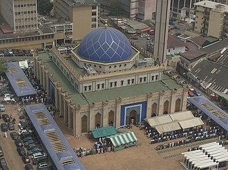 Islam in Ivory Coast - Image: Mosque Plateau Abidjan 2016 1