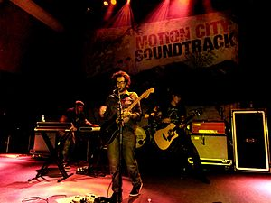 Motion City Soundtrack - Image: Motion City in DC