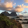 Mount Gower at dusk, Lord Howe Island, NSW, Australia.jpg