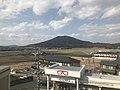 Mount Kayasan from Misakigaoka Station.jpg