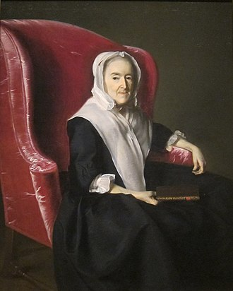 William Dummer Powell - Mrs. Anna Dummer Powell, Powell's grandmother painted in 1764 by John Singleton Copley.