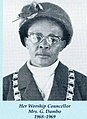 Mrs G Dambo (First female Mayor of Botswana) Botswana History.jpg