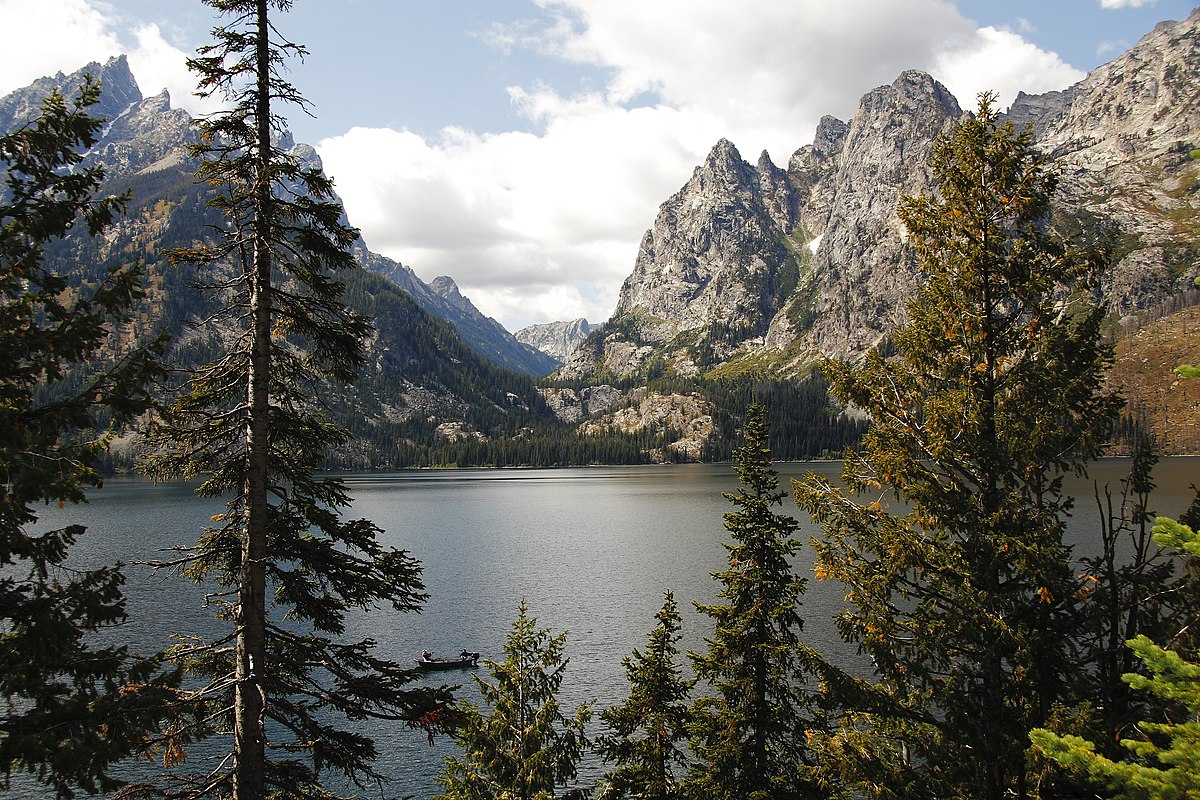 Jenny Lake Reprise ~ Grand Teton National Park, Wyoming ... |Jenny Lake Grand Teton National Park