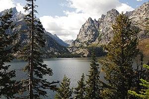 Jenny Lake - Jenny Lake at the foot of Cascade Canyon