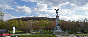 Mount Royal - Mount Royal's eastern slope