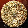 Muel, piatto con lustroi metallico, 1525-50 ca..JPG