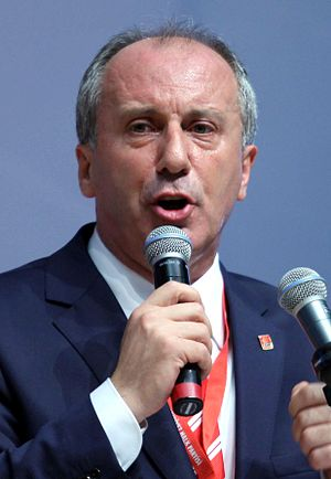 18th Republican People's Party Extraordinary Convention - Image: Muharrem İnce cropped