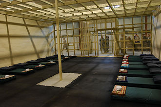 Parwan Detention Facility - Inside the multi-bed room